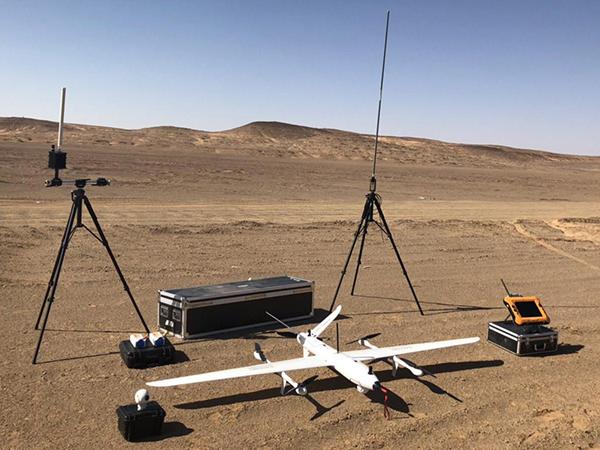 青海省地理国情监测院无人机航拍测绘案例