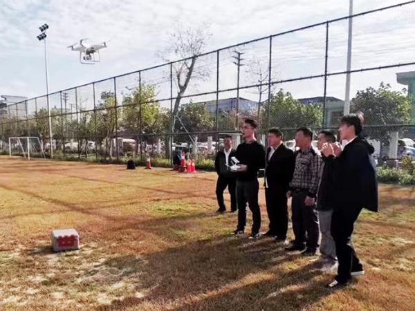 广西柳州执法局无人机巡检培训案例