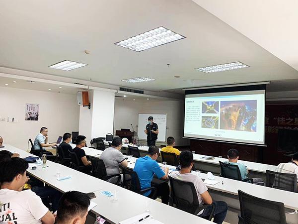 青海省公安消防总队无人机勘察监测培训案例