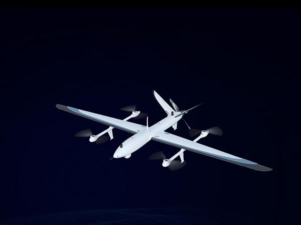 纯电动垂直起降无人机平台