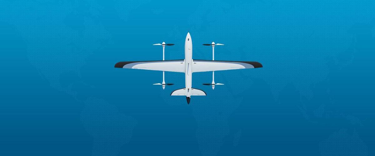 纯电动垂直起降无人机平台详情图