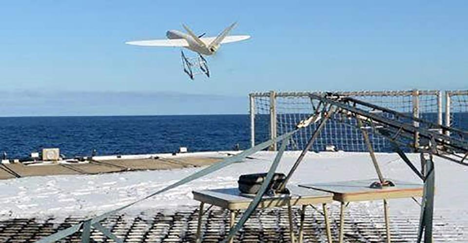 无人机用于冰凌应急监测
