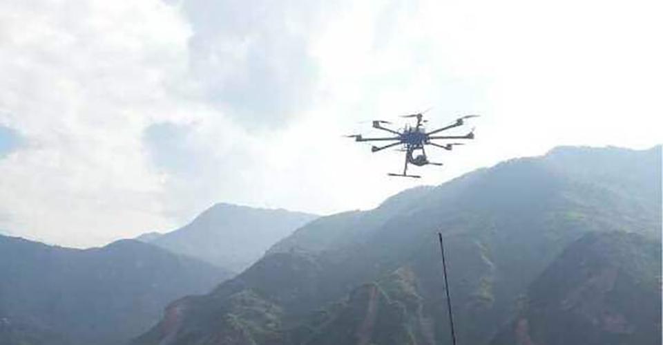 无人机用于堰塞湖等应急监测