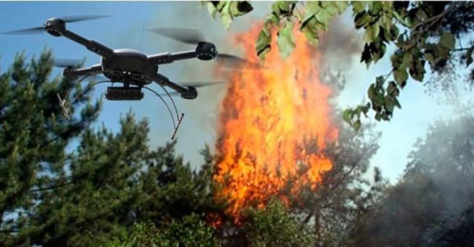 无人机火情监测