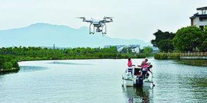 无人机用于水污染检测